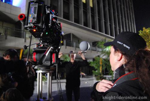 VFX set supervisor Eliza Pelham Randall
