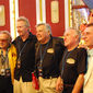 George Barris, Jack Gill, Ron Martinez, Buzz Bundy and Dennis Braid