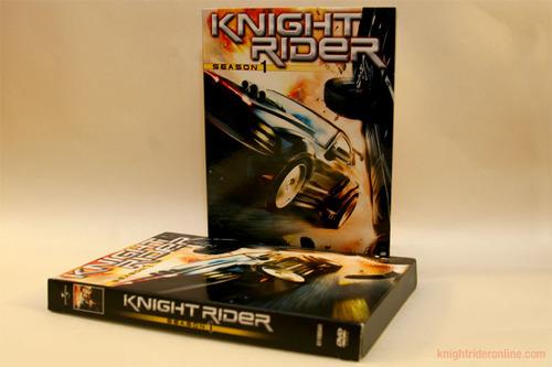Knight Rider 2008 DVD