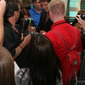 David Hasselhoff signs autographs at VIP Party