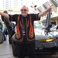 George Barris at Pre Press Event Lineup