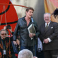 David Hasselhoff at Press Event