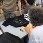 Michael Scheffe and a cool KITT shirt