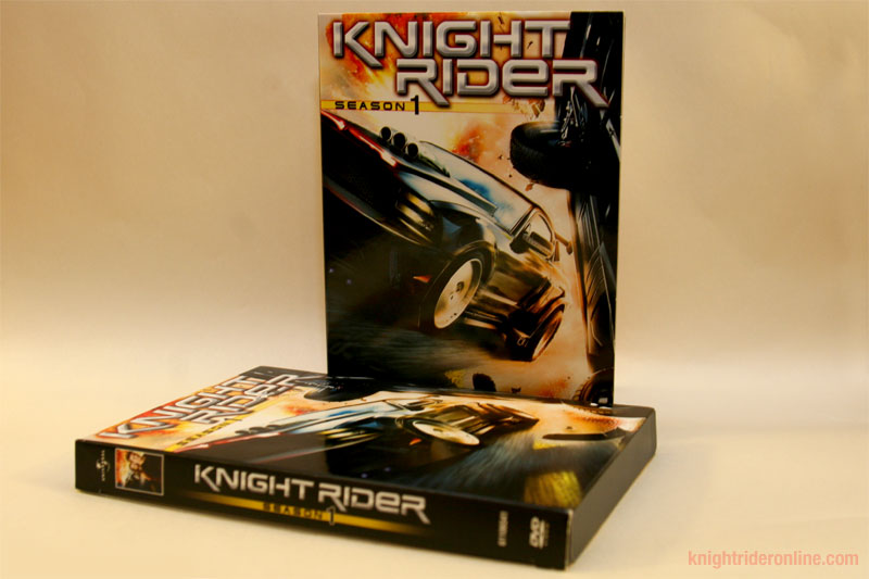 Knight Rider 2008 Dvd Box Set Knight Rider 2008 Dvd