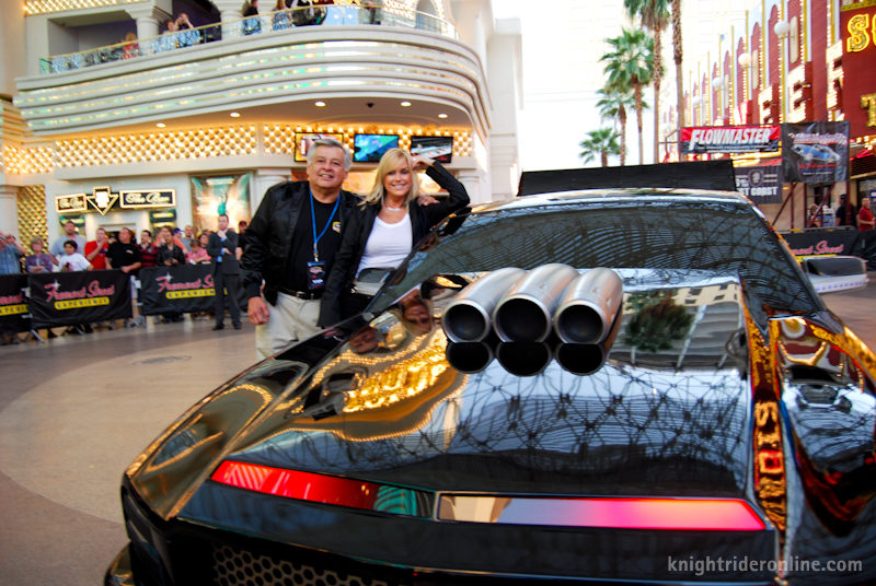 Online Car Auction >> Ron Martinez and Catherine Hickland - photos . knight rider online