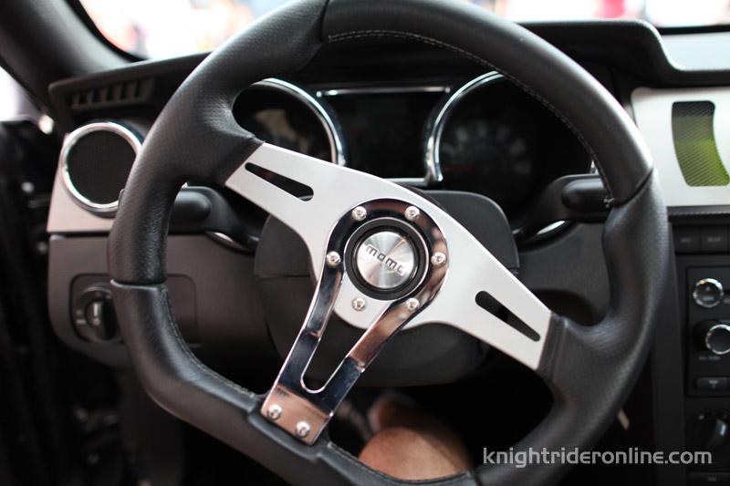 KITT wheel from Knight Rider 2008 - photos   knight rider online